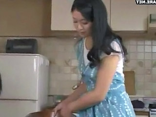 Wife Kitchen Asian Beautiful Asian Japanese Milf Japanese Wife