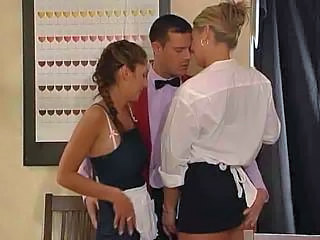 Maid Fucks Threesome By Jackass Sex Tubes