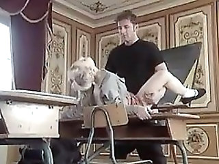 Student Fucked by Teacher on Classroom Table by snahbrandy