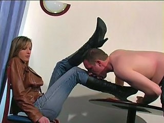 ms angela boot worship