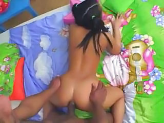 Asian Teen Liliane Interracial