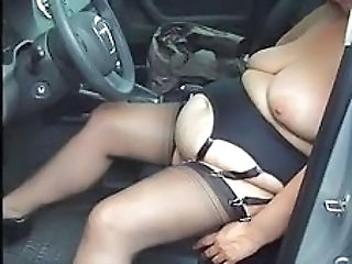 Car Saggytits Stockings Bbw Amateur Bbw Tits Bbw Wife