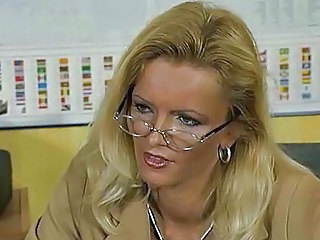 Amazing Office Glasses Boss Milf Ass Milf Office