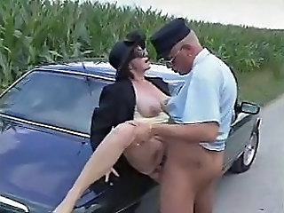 Mature Clothed Car Clothed Fuck Hardcore Mature Outdoor