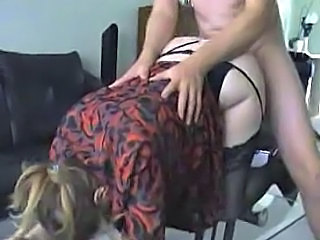 MILF Clothed Hardcore Clothed Fuck Milf Stockings Stockings