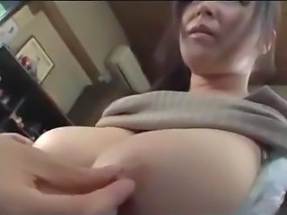 Japanese milf with big boobs home video