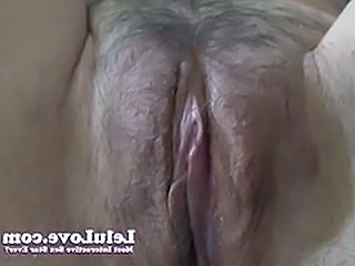 Clit Close up Hairy Pussy