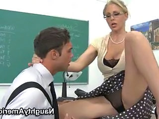School Amazing Blonde Milf Ass Milf Lingerie School Teacher