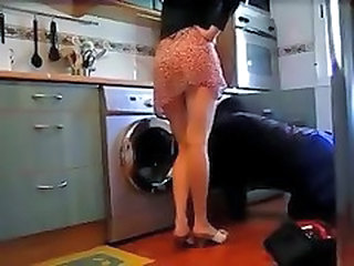 Kitchen Wife Skirt Kitchen Housewife Plumber Wife Milf
