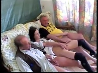 Family Old and Young Small cock Dad Teen Daddy Daughter