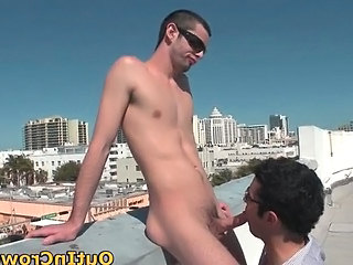 Hot Gays Sucking And Fucking On The Roof Part6