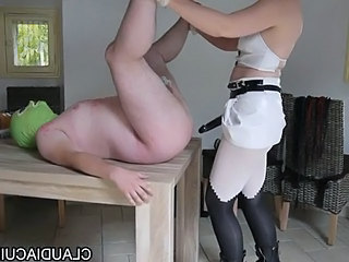 Video from: tube8 | Dominatrice Sm Maitresse Claudiacuir Baise Soumise G Au Gode