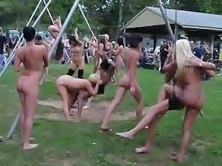 Nudist Party Public Public