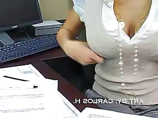 Office MILF Natural Big Tits Amazing Big Tits Milf Milf Big Tits