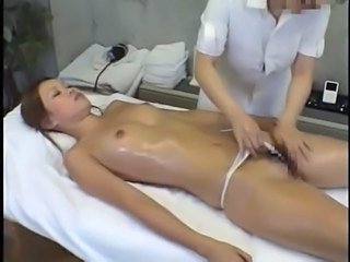Oiled Small Tits MILF Japanese Massage Japanese Milf Massage Asian