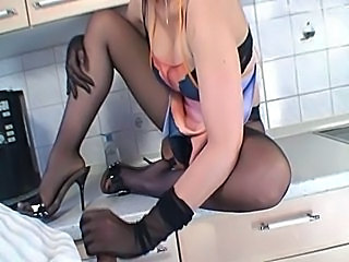 Video from: empflix | Great Pantyhose Lady
