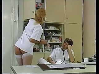 German Doctor Stockings European German German Milf
