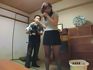 Asian Japanese MILF Pantyhose Upskirt Japanese Milf