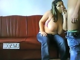 blowjob Giant brazilian tits