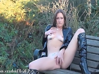 British Outdoor Public Amateur British British Milf