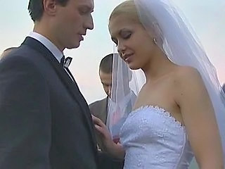 Bride Russian Babe Wedding Short Hair