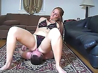 Facesitting  Femdom Bikini Mistress Mother