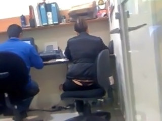 Voyeur Office Thong