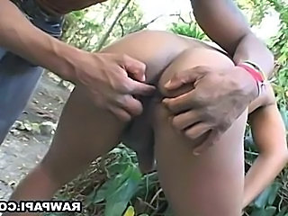 Ass Fisting Outdoor