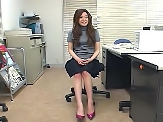 japanese girl watches guy masturbate and cant resist...