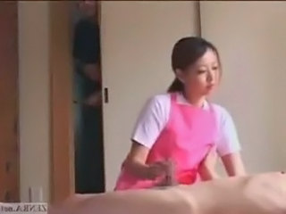 Small Cock  Asian Cfnm Handjob Handjob Asian Handjob Cock