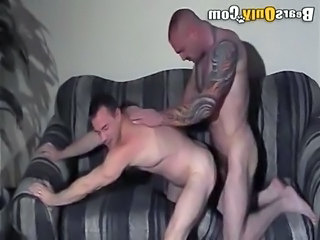 Muscle Bound Daddy Fucks Doggy Style