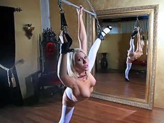 Angel attached cannot control weenie's sex fantasy! all on cam!