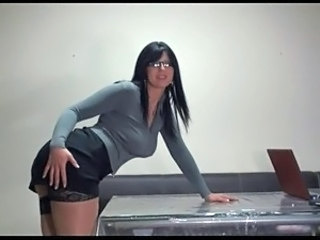 Glasses MILF Office Glasses Busty Milf Ass Milf Office