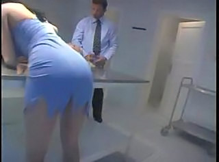 Threesome Gets Nasty In Morgue