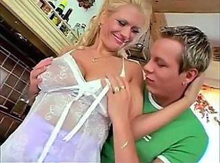 Sexy German Blonde Mother _: hardcore matures old+young