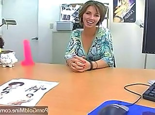 Hot MILF Gets Fucked inthe Office , nice boobs