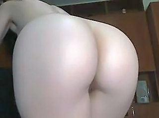 Sexy cam girl perfect ass plays with dildo in her ass  2