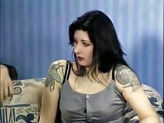 Goth Tattoo Brunette Milf Anal Milf Ass
