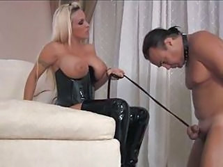 Videos from: tube8 | Cuckold Slave Threesomes Not Wife Not Amateur Bdsm Bondage Slave Femdo...