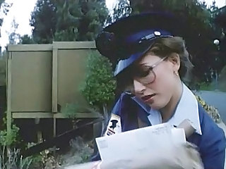 Glasses Vintage Uniform Milf Ass Outdoor