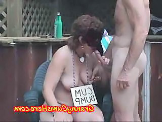 Grannies Go Wild And Eat Cum At Public Swingers Part...