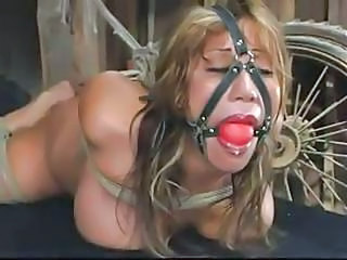 Busty Asian Girl Is Tied Up And Gagged I...
