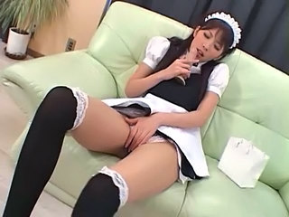 squirting Japanese Maid 1 -...