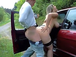 big titted bitch outdoor fuck