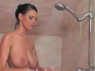 Showers Brunette MILF Saggytits Shower Tits Slave Humiliation