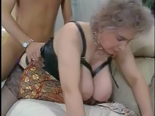 Doggystyle Granny Stockings Boobs Granny Sex Granny Stockings