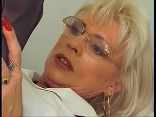 Mature Blonde Glasses Glasses Mature Mature Ass