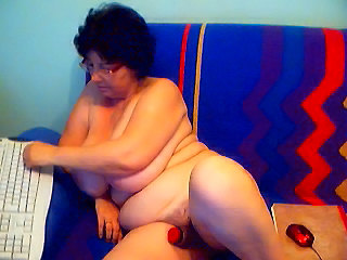 Webcam Dildo Granny