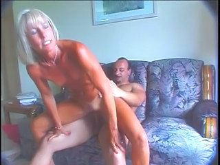 Muscled Mature Blonde