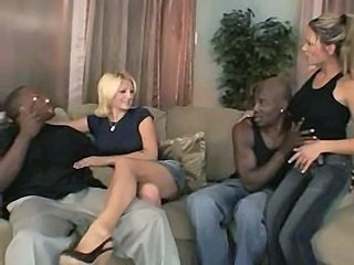 Interracial Groupsex MILF